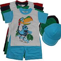 Костюм для мальчика 1-3года футболка+шорты ,арт.0502