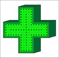 Светодиодный аптечный крест.500мм*500мм*120мм