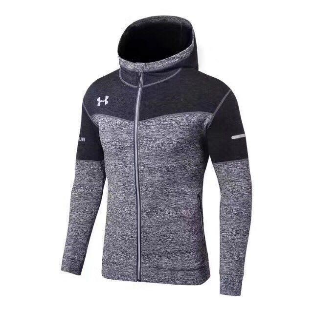 Спортивная кофта Under Armour HeatGear Regular L-13-1 XL Серая (L-13-1)