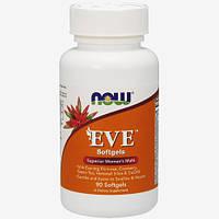 Мультивитамины для женщин Now Foods EVE(90 софтгель)