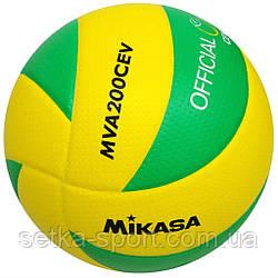 М'яч для волейболу Mikasa MVA200 CEV (оригінал)