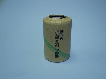 Аккумулятор технический MastAK 4/5 Sab-c 1,2v 2100mAh (Ni-Mh)