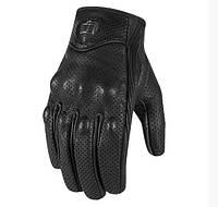Мотоперчатки Мотоперчатки Pursuit Touch перф. кожа черный M ICON