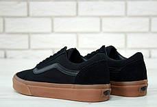 Мужские кеды Vans Old Skool black gum, фото 3