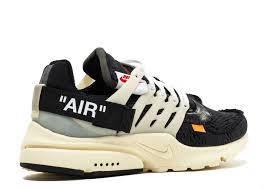 Мужские кроссовки Nike Air Presto (black) OFF White, фото 2