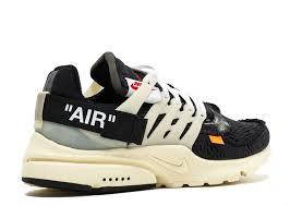 Nike Air Presto (black) OFF White, фото 2