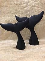 Статуэтка настольная для декора Китовые хвосты
