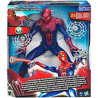 Большая игрушка Спайдермен 30СМ, стреляющий по мишени - Motorized Spider Man/Hasbro