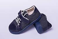 Туфли детские на липучке из натуральной кожи от производителя модель ТД - 05