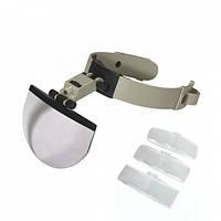 Бинокуляр Magnifier MG81003 с led подсветкой (1,5х, 2,5х, 3,5х)
