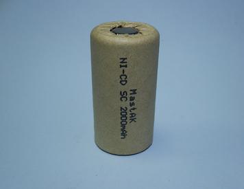 Акумулятор технічний MastAK Sab-c 1,2 v 2000mAh (Ni-Cd)