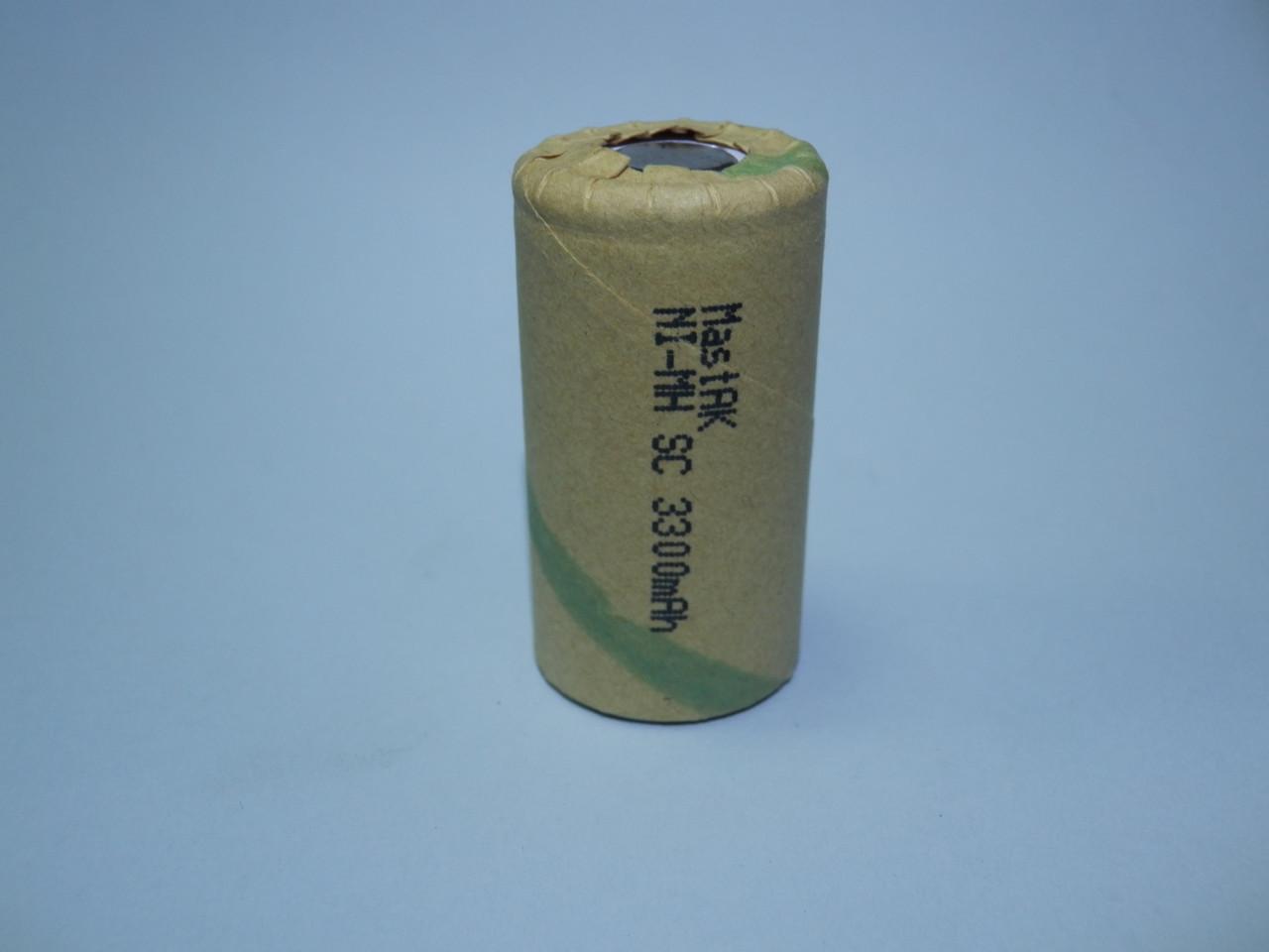 Аккумулятор технический MastAK  Sab-c 1,2v 3300mAh (Ni-Mh)