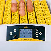 Инкубатор автоматический Теплуша Europe 56 S встроенный овоскоп, вентилятор, гигрометр