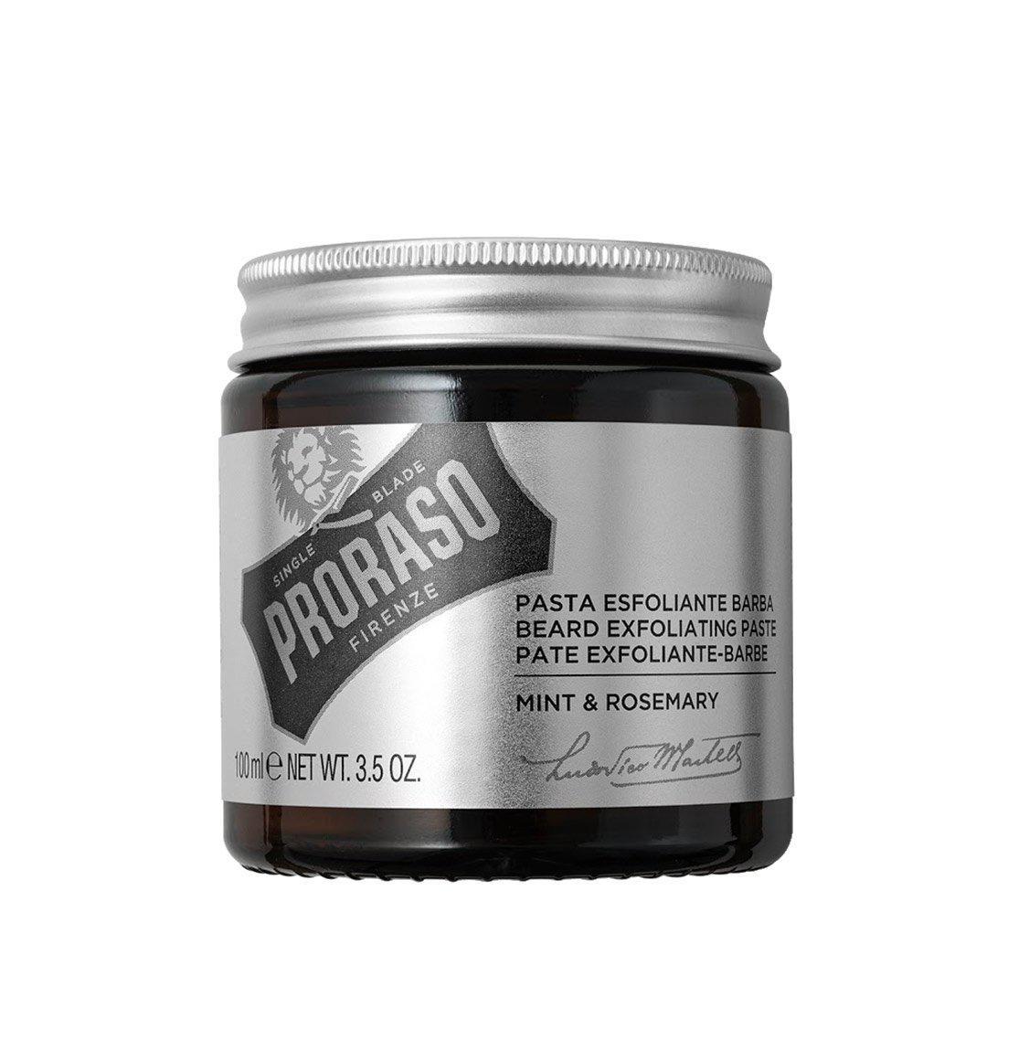 Очищающая скраб - паста для лица и бороды Proraso Beard Exfoliating Paste 100 мл.