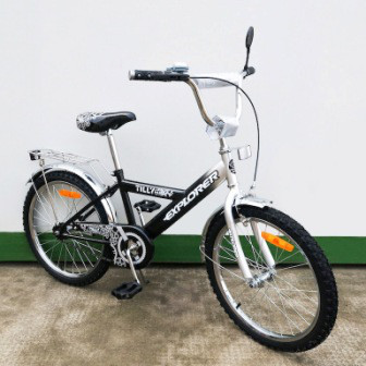 "Велосипед EXPLORER 20"" T-22017 black + grey /1/"