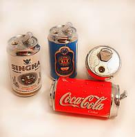 Зажигалка Банка Кола, Спрайт, Пиво