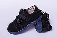 Туфли детские на липучке из натуральной кожи от производителя модель ТД - 07