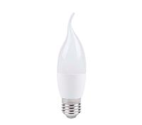 Светодиодная лампа Feron LB-737 CF37 6W  E27 2700K свеча на ветру, фото 1