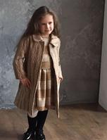 """Пальто детское для девочки #1622 ТМ """"Peekaboo"""" (Пикабу, Украина)"""