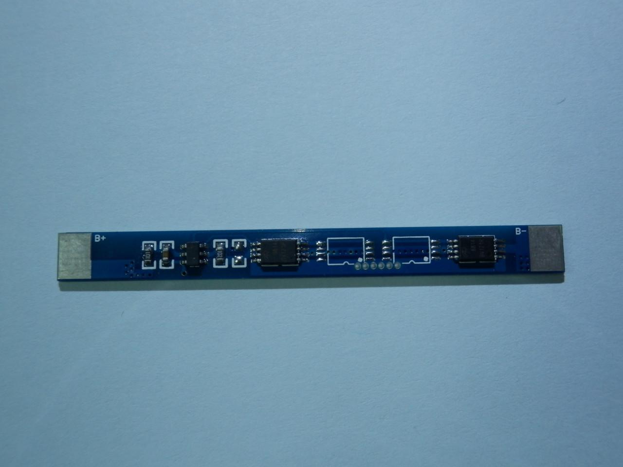 Плата защиты  для одного Li-Ion или Li-pol  элемента 1s 4А (max 8)