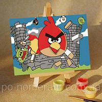 Игра Картины по номерам (MA206) Angry Birds 17 (10х15)