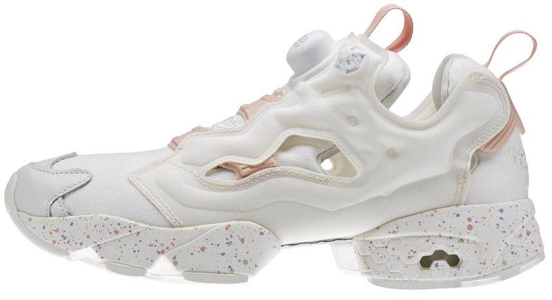 Женские кроссовки Reebok InstaPump Fury Celebrate (Рибок ИнстаПамп) белые