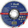 Круг отрезной 125х1.2х22.2мм по металлу и нержавеющей стали S&R Meister