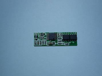 Плата захисту для складання з Li-Ion або Li-pol акумуляторів 3s 4А (max 8)