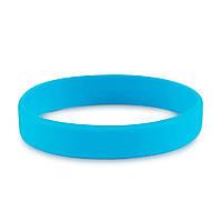Браслет силиконовый (голубой)