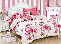 Комплект цветочного постельного белья из бязи Gold хлопок