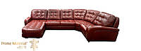 """Кожаный угловой диван """"Бостон"""""""