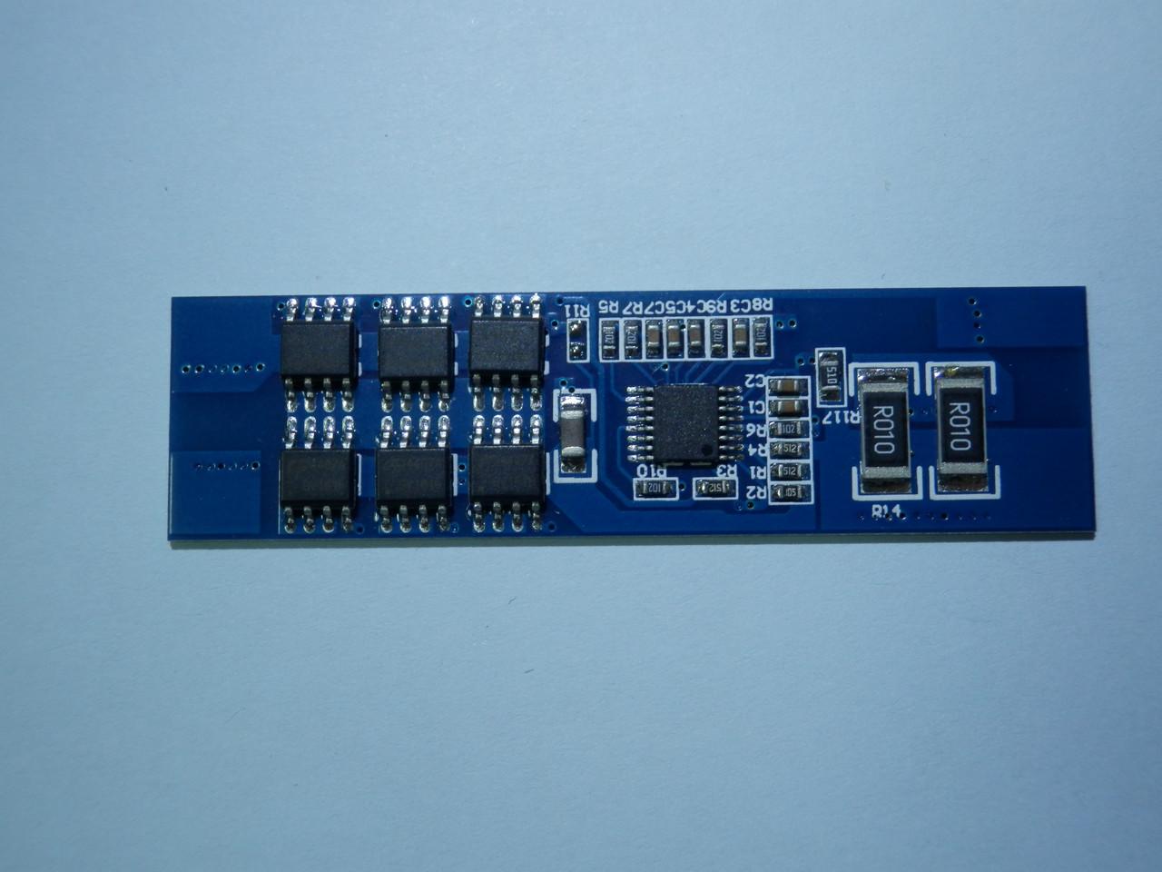 Плата защиты  для сборки с  Li-Ion или Li-pol  аккумуляторов 3s 12А (max 24 )