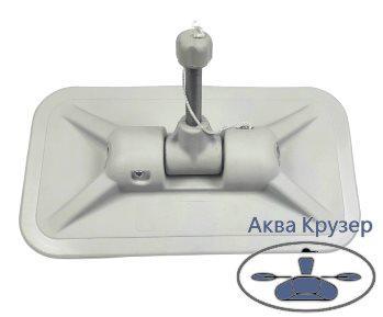 Уключина поворотная, цвет серый купить в Украине - для лодок ПВХ