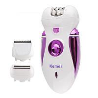 Эпилятор Kemei KM-3020, 3 в 1