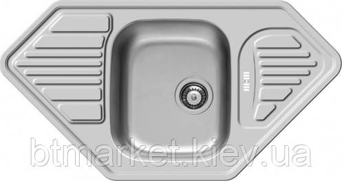 Кухонная мойка PYRAMIS MEDUSA CORNER 1 1/2B 2D (92 mm), фото 2