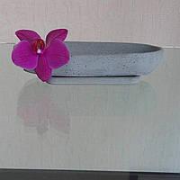 Ладья-кашпо из бетона, фото 1