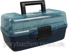 Ящик Aquatech 1702Т 2-х полоч. прозр.
