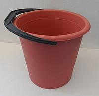 Ведро пластиковое цветное 10л