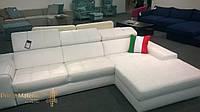 """Кожаный угловой диван """"Сицилия"""""""