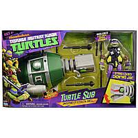 Боевой транспорт Донателло и подводная лодка - Turtle Sub with Donatello, TMNT 2012, Playmates