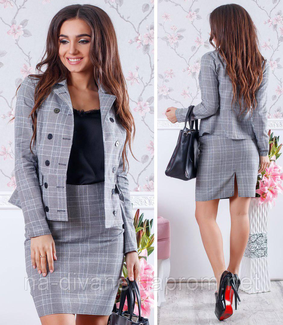 деловой костюм с юбкой 666 ник цена 470 грн купить в чернигове