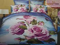 Постельное белье Comfort home textile lux 3D  полуторное