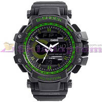 Часы наручные G-SHOCK GA-150 Black-Green, BOX