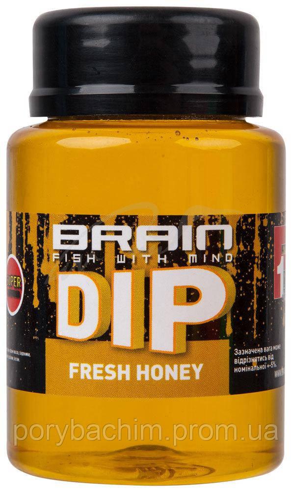 Дип для бойлов Brain F1 Fresh Honey (мёд с мятой) 100ml