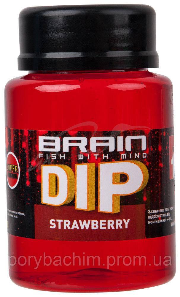 Дип для бойлов Brain F1 Strawberry (клубника) 100ml