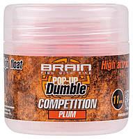 Бойлы Brain Dumble Pop-Up Competition Plum 11 mm 20 g