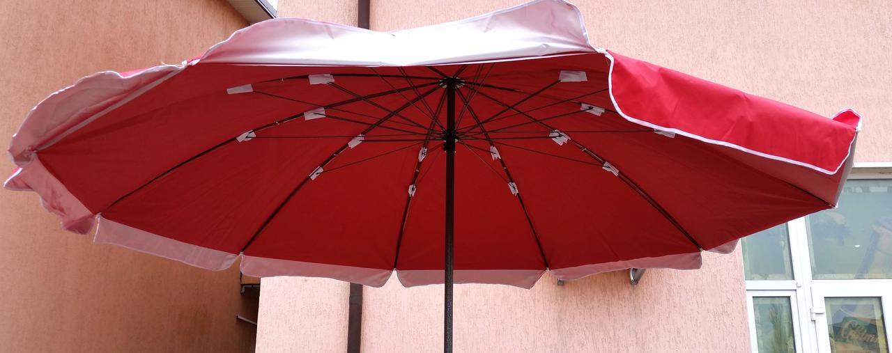 Зонт садовый, торговый, круглый, мощный, двойная ткань, 3.2 м, мод-105