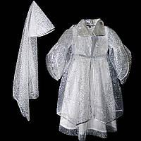 Маскарадный костюм Снежная Королева (размер М)