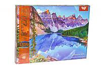 Пазлы Горное озеро 1500 элеменов Данко Тойс C1500-02-01