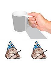 Чашка мем кіт
